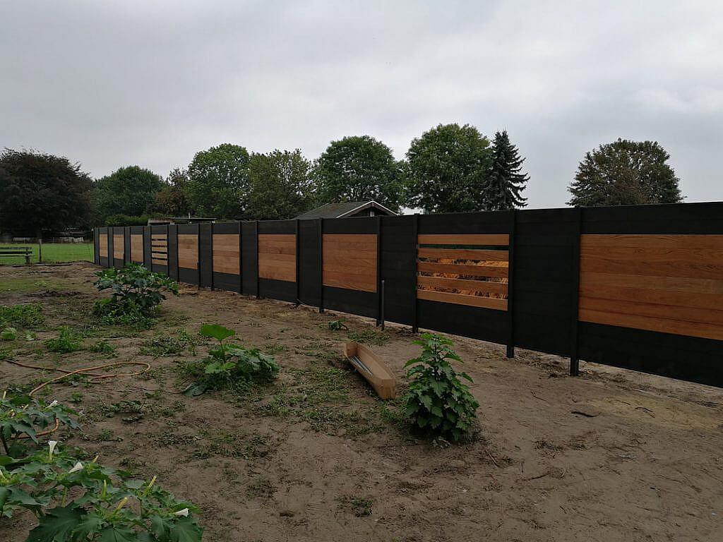 Compostiet Schutting in Nederweert